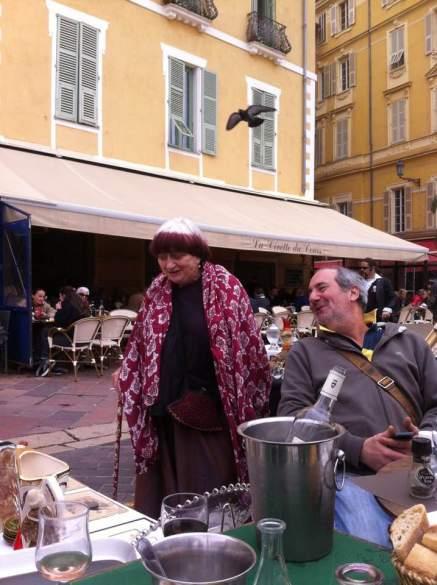 Agnès Varda à Nice en 2017 par Mauro Alpi